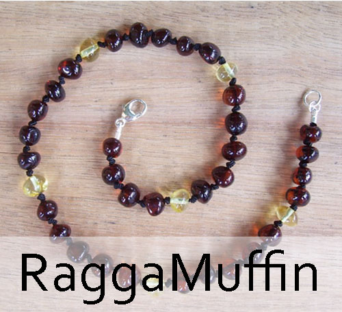 Selkie Designs Amber Necklace RaggaMuffin