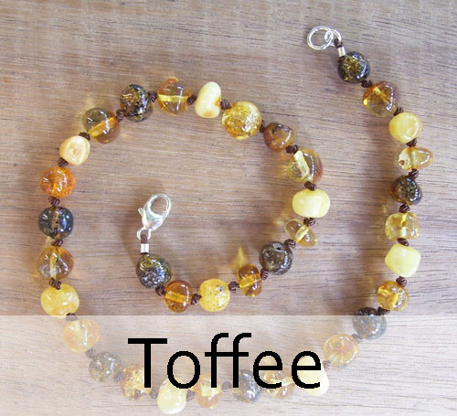 Selkie Designs Amber Necklace Toffee