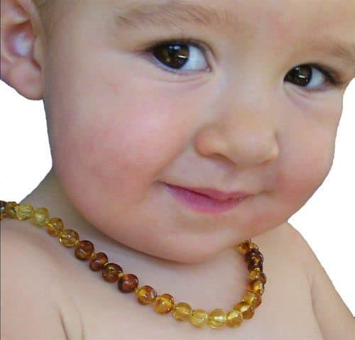 Selkie Amber Teething Necklace