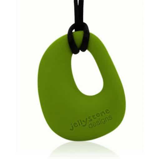 Organic Pendant Peapod Green
