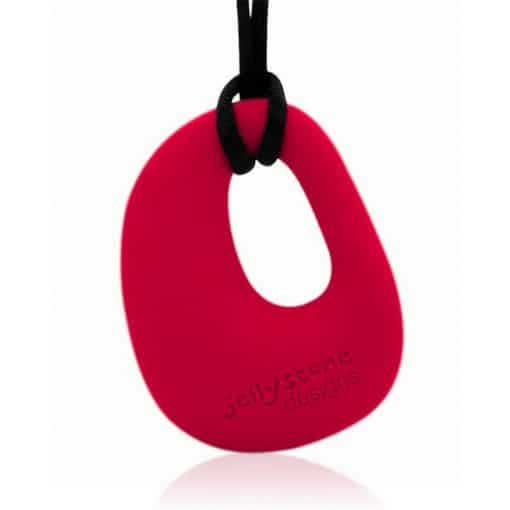 Organic Pendant Scarlet Red