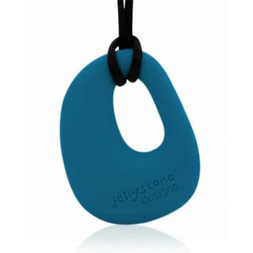 Organic Pendant Teal Blue