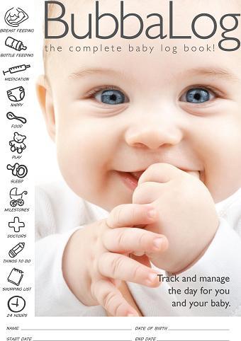 Bubbalog Baby Log Book-0