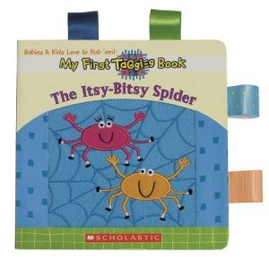 My First Taggies Board Book – Itsy Bitsy Spider