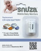 Snuza Replacement Battery with Packaging