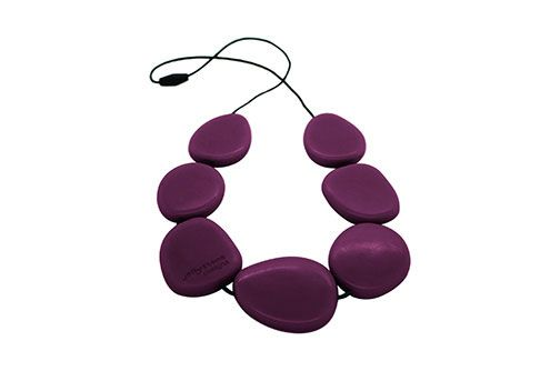 Jellystone Necklace Eggplant