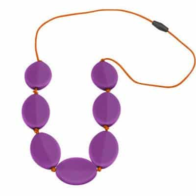 Caru Necklace Purple Grape