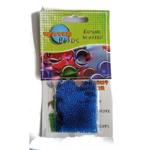 Beans Talk Blue Beads
