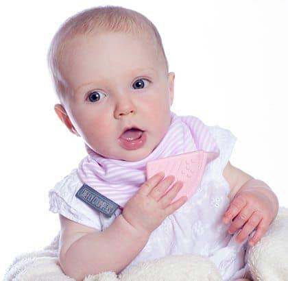 Neckerchew - Cool Pink Baby