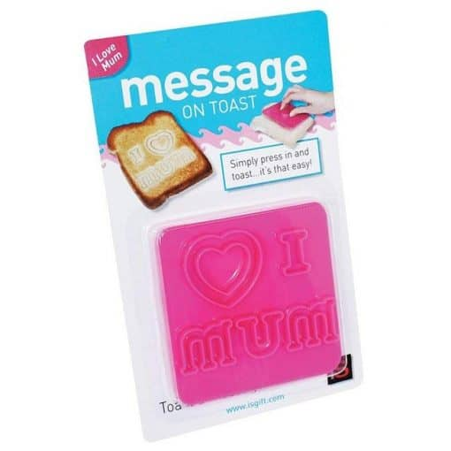 I Love Mum Toast Imprint in Packet
