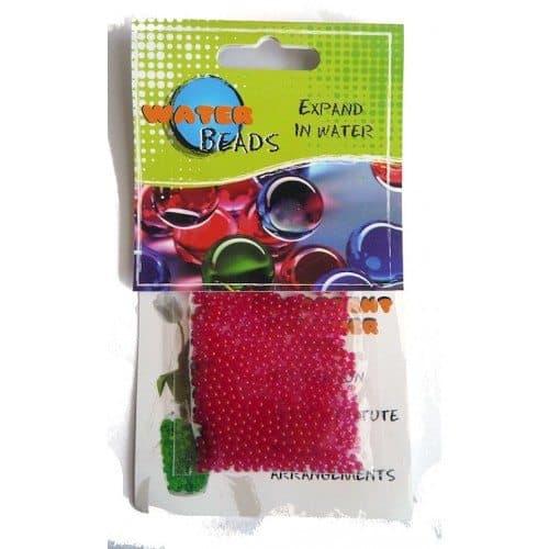 Beans Talk Pink Beads