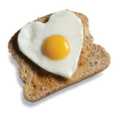 I love eggs - on toast