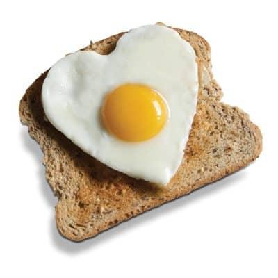 I love eggs - on toast