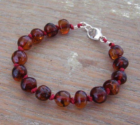 Selkiedesigns Amber Bracelet Cherry