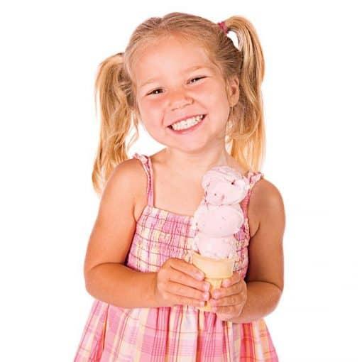 Scooper Dooper Ice Cream Scoop Girl with Ice Cream