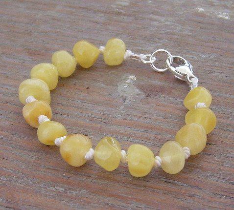 Selkiedesigns Amber Bracelet Milky