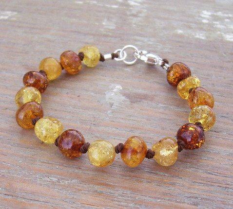 Selkiedesigns Baltic Amber Bracelet Ochre