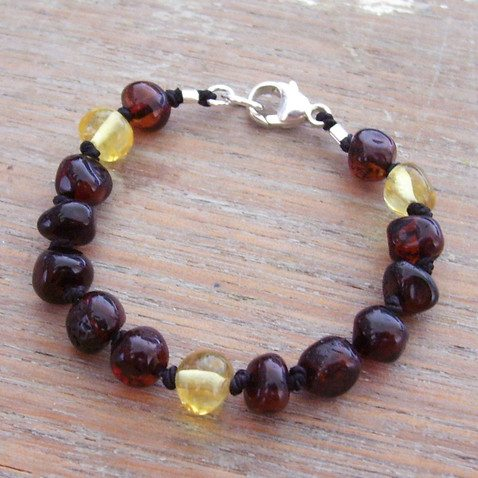 Selkiedesigns Baltic Amber Bracelet Ragga Muffin