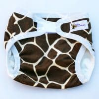 Baby BeeHinds Nappy Cover - 'Raffe (Minky)