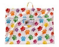 Baby BeeHinds Wetbag - Paw Print Palette