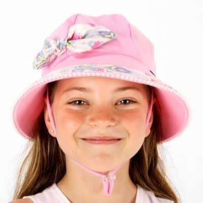 Bedhead Bucket Hat with Strap - Secret Garden