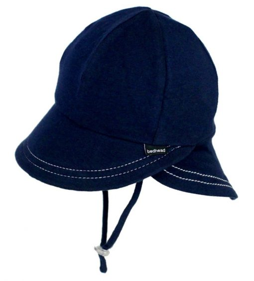 Bedhead Legionnaire Hat with Strap - Navy