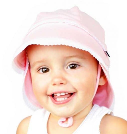 Bedhead Lace Trim Legionnaire Hat with Strap