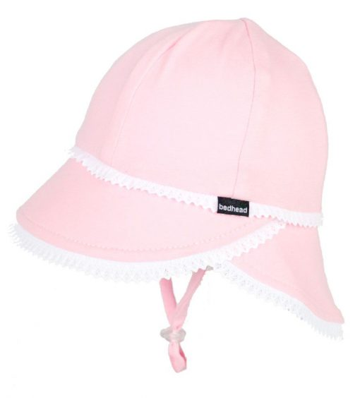 Bedhead Lace Trim Legionnaire Hat with Strap