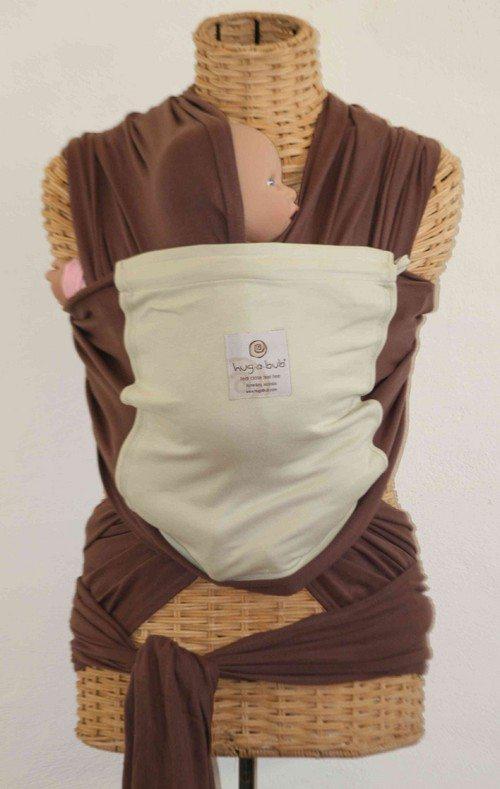 Hugabub Choc/Cream Organic Pocket Wrap