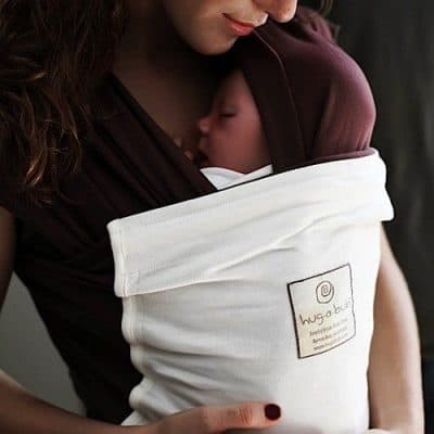 Hugabub Choc/Cream Organic Pocket Wrap
