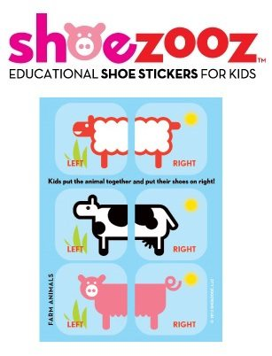 Shoezooz Shoe Stickers