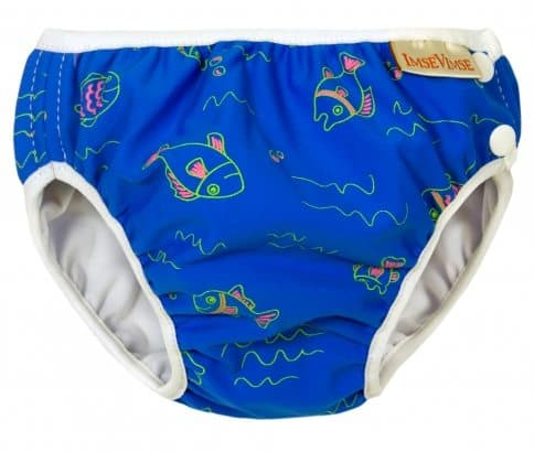 Imse Vimse Swim Nappy - Blue Fish