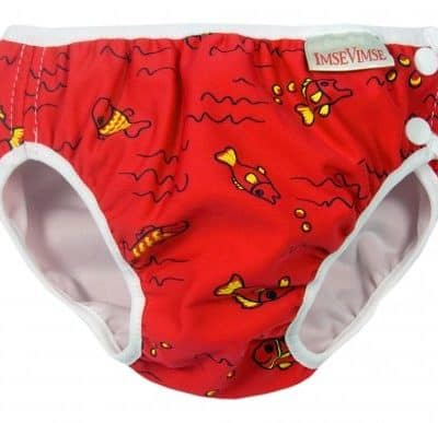 Imse Vimse Swim Nappy - Red Fish