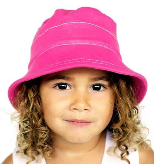 Bedhead Bucket Hat - Bright Pink