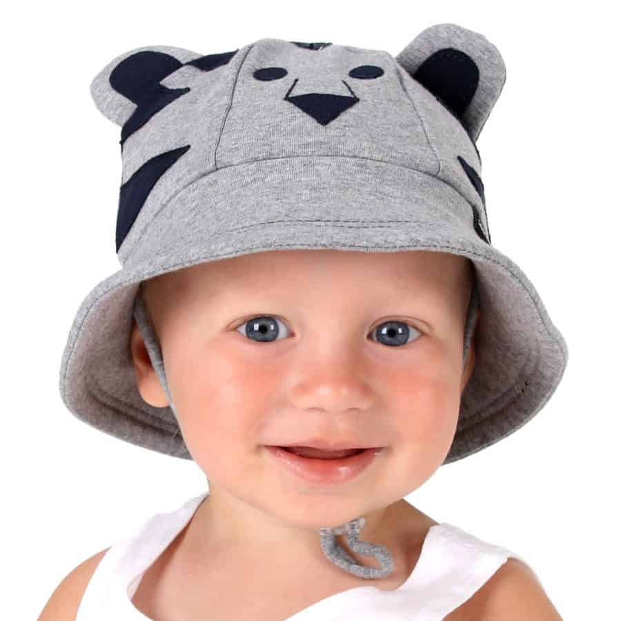 d1fd7cf95e2 Bedhead Lil  Tiger Baby Bucket Hat with Strap - Aussie Kidlets