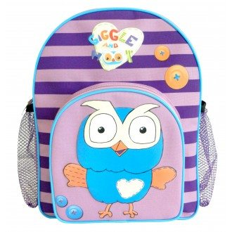 Hoot Backpack - Purple