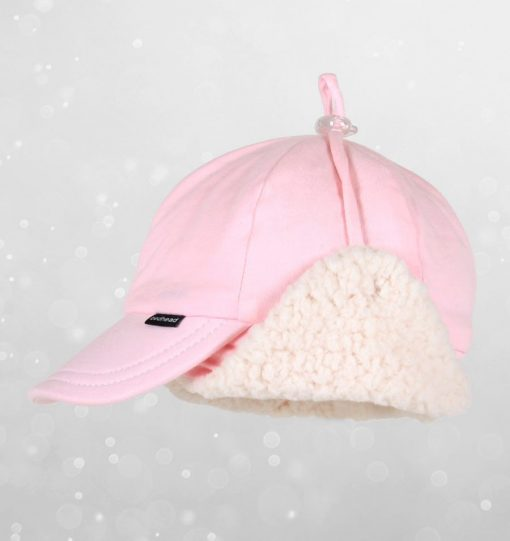 Bedhead Winter - Fleecy Legionnaire with Strap - Baby Pink