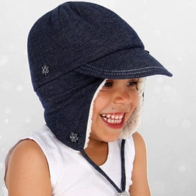 Bedhead Winter - Fleecy Legionnaire with Strap - Denim