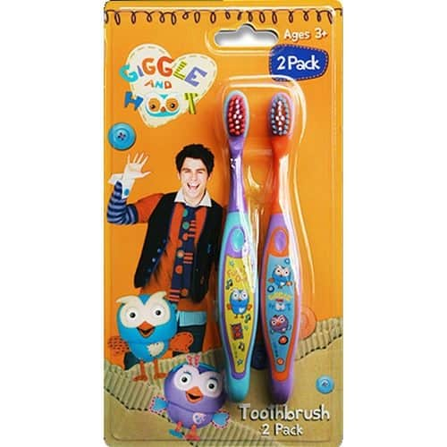 Giggle and Hoot Toothbrush (2 pack)