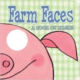 Farm Faces Mask Book