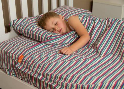 Kids Zip Sheets - Blue Stripes