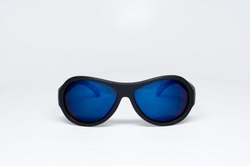 Babiators Black Ops Polarised with Mirrored Blue Lenses