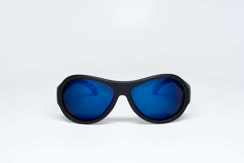 Babiators Black Ops Polarised with Mirrored Blue Lenses
