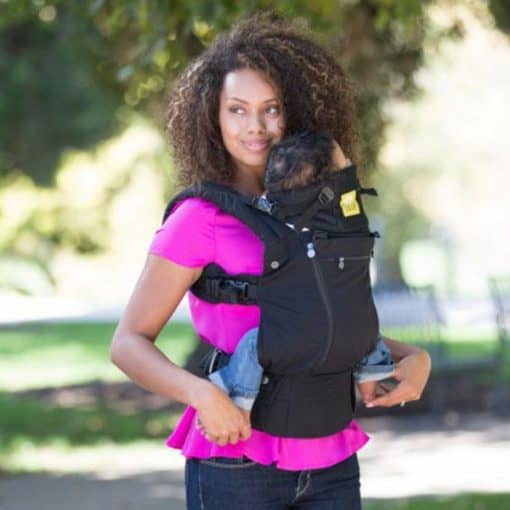 Lillebaby All Seasons Black Baby Carrier