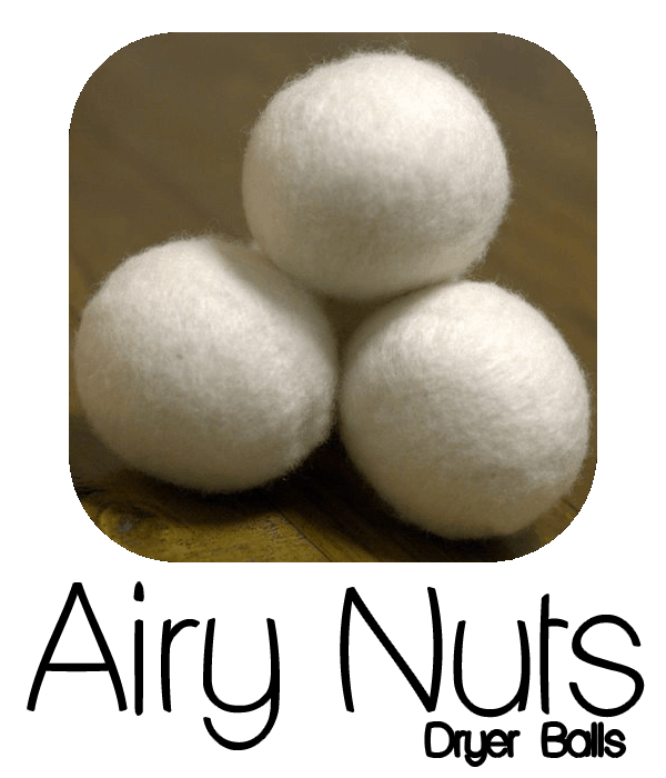 Airy Nuts Dryer Balls