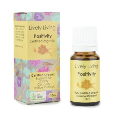 Lively Living Positivity Organic Oil