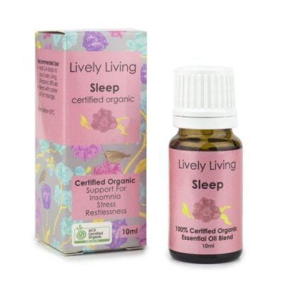 Lively Living Sleep Organic Oil