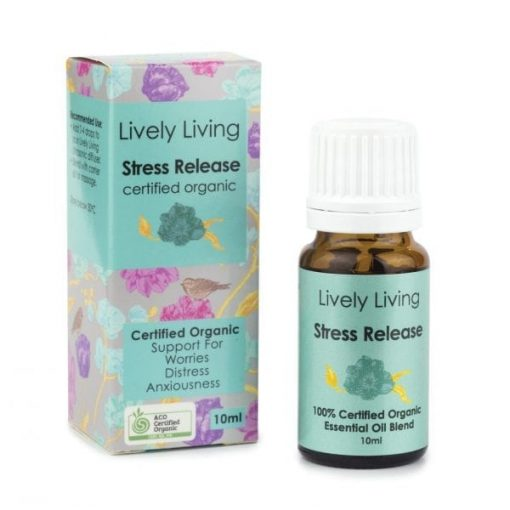 Lively Living Stress Release Organic Oil